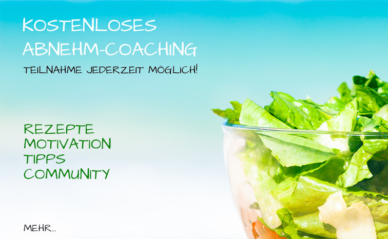 Kostenloses Abnehm-Coaching