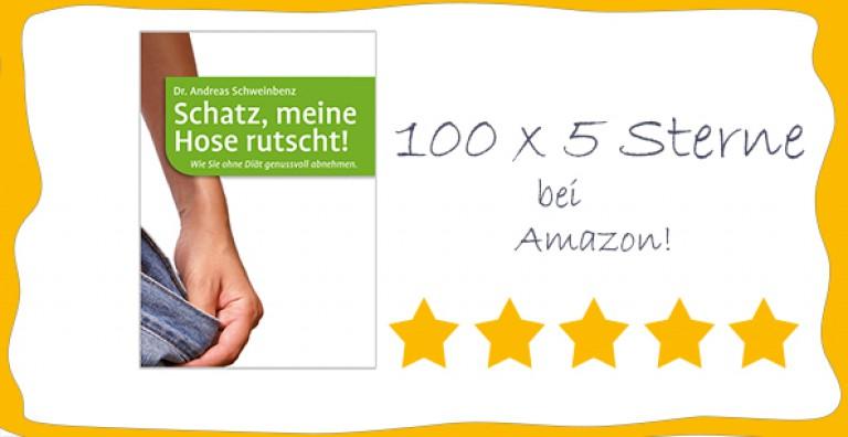 100 x 5 Sterne - Danke für so viel positives Feedback!