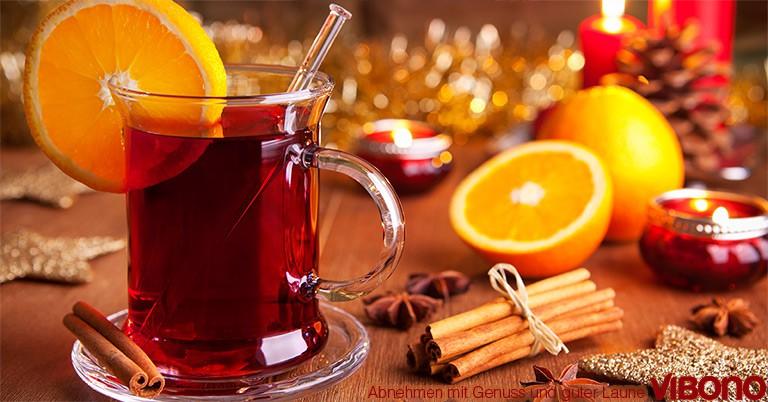 Tee und Glühwein im Vibono Abnehm-Check