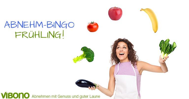 Frühlings-Abnehm-Bingo