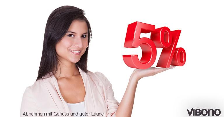 Die 5%-Kohlenhydrate-Regel für die Umstellungstage