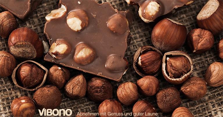 Hat Nuss-Schokolade mehr Fett oder mehr KH?