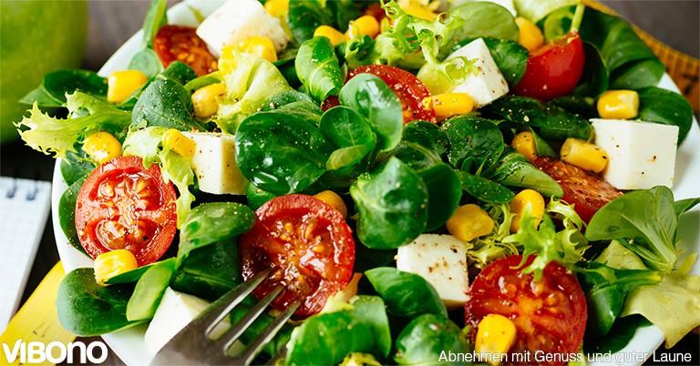 Sommersalate mit 5 Lebensmitteln - Aktuelles Thema in der Vibono-Gruppe