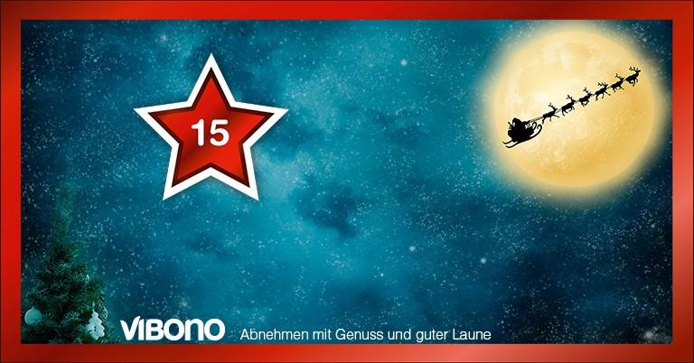 Der Weihnachtsmann meldet seine Rentiere bei Vibono an