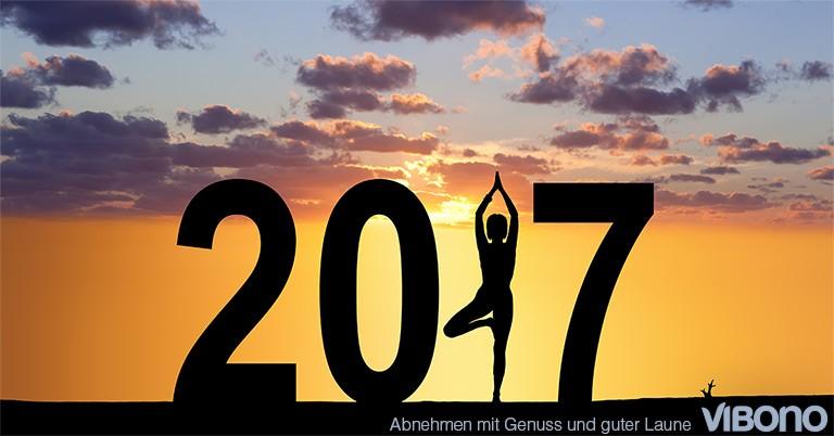 Vorsätze für 2017 - Aktuelles Thema in der Vibono-Gruppe