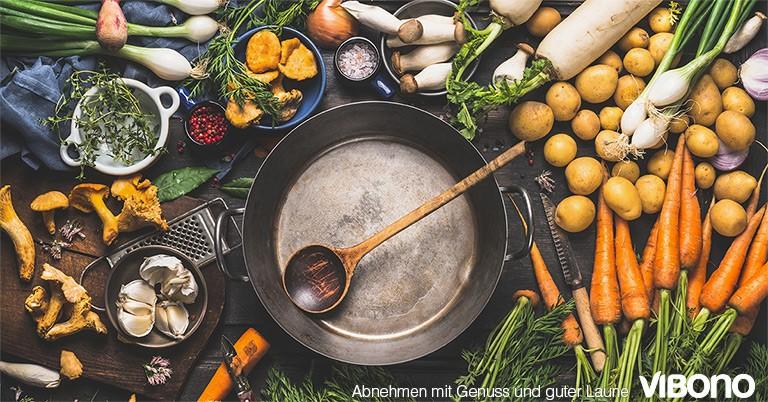 Hauptgerichte ohne Käse, Sahne & Co. - Aktuelles Thema in der Vibono-Gruppe