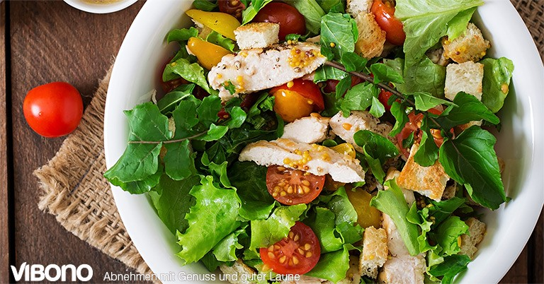 Salatrezepte  - Aktuelles Thema in der Vibono-Gruppe