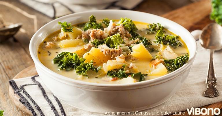 Suppen und Eintöpfe - aktuelles Thema in der Vibono-Gruppe