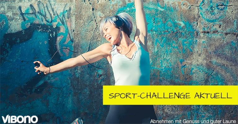 Stand der Sport-Challenge - aktuelles Thema in der Vibono-Gruppe