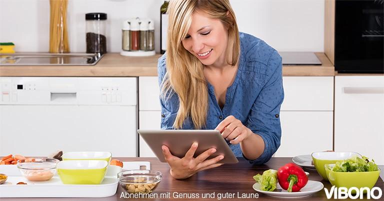Mahlzeiten mit dem Energiedichte-Rechner berechnen