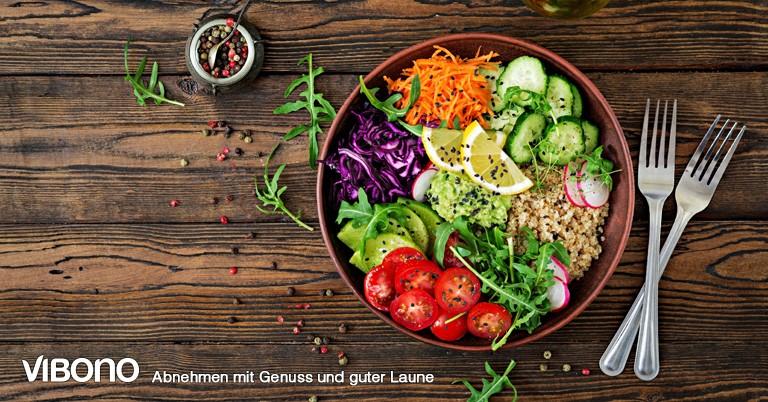 Vegetarische Salate und Bowls - Aktuelles Gruppenthema