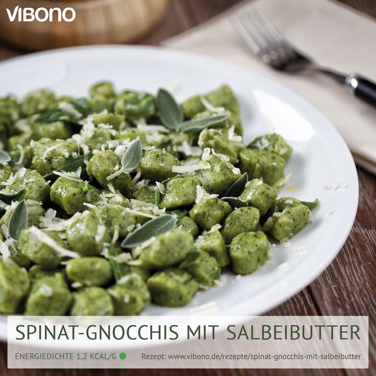 Spinat-Gnocchis mit Salbeibutter
