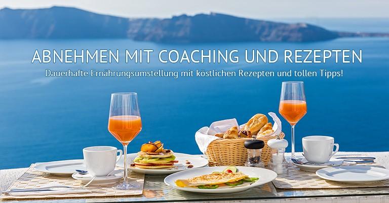 Abnehmen mit Coaching und Rezepten