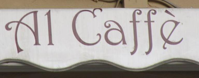 Morgens an der Kaffeebar