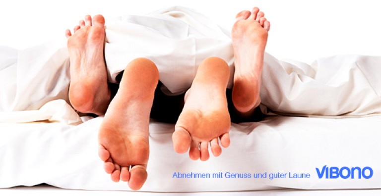Abnehm-Mythos Bettgymnastik