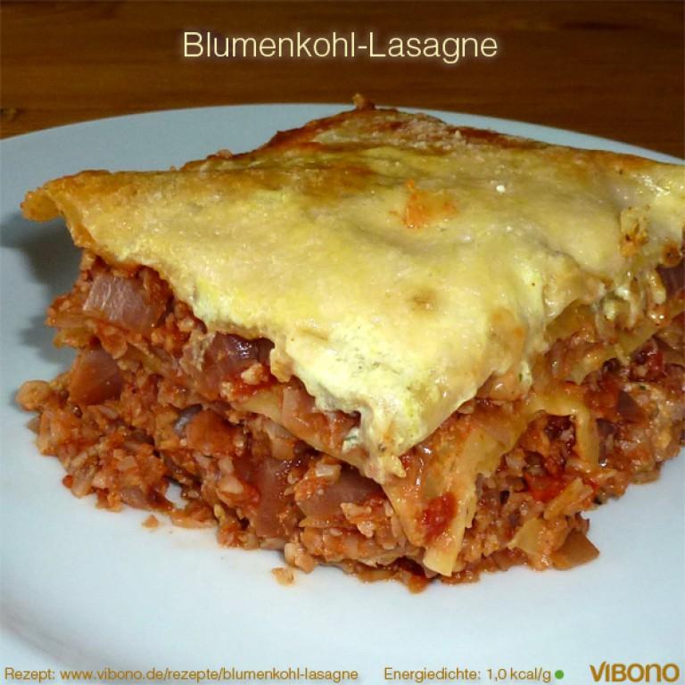 Blumenkohl-Lasagne