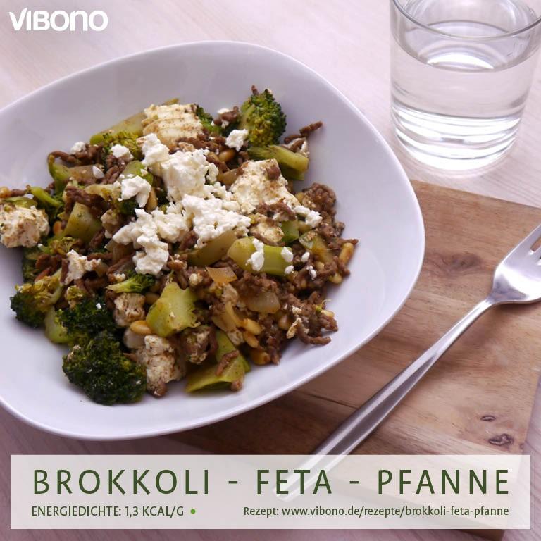 Brokkoli-Feta-Pfanne