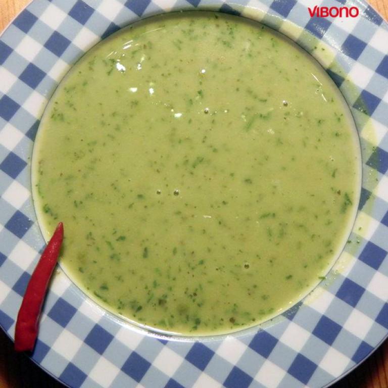 Schnelle Gemüsecremesuppe