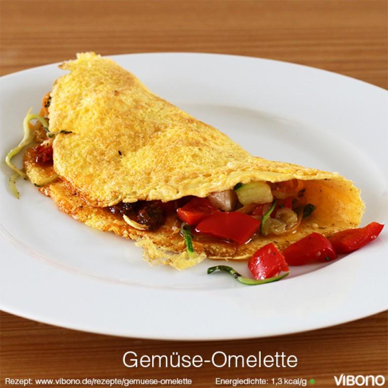 Gemüse-Omelette