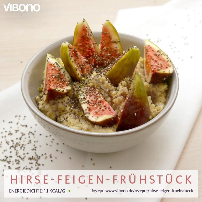 Hirse-Feigen-Frühstück