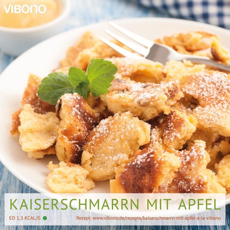 Kaiserschmarrn mit Apfel