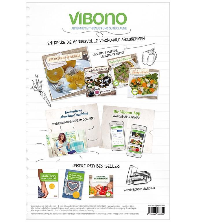 Vibono Abnehm-Kalender 2017