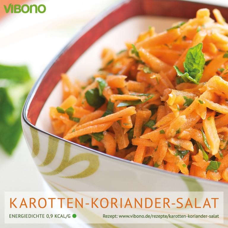 Karotten-Koriander-Salat
