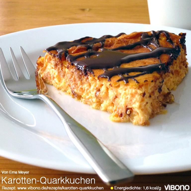Karotten-Quarkkuchen