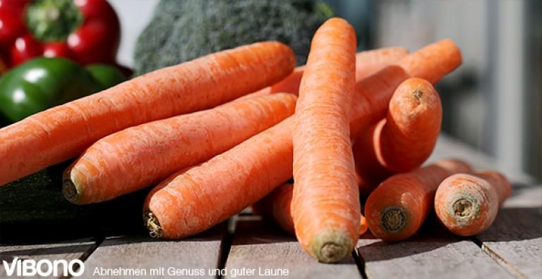 Das Multitalent unter den Schlankmachern: die Karotte