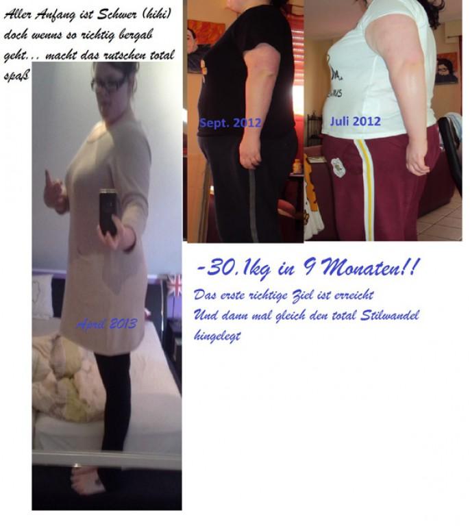 30 kg in 9 Monaten und ein totaler Stilwandel
