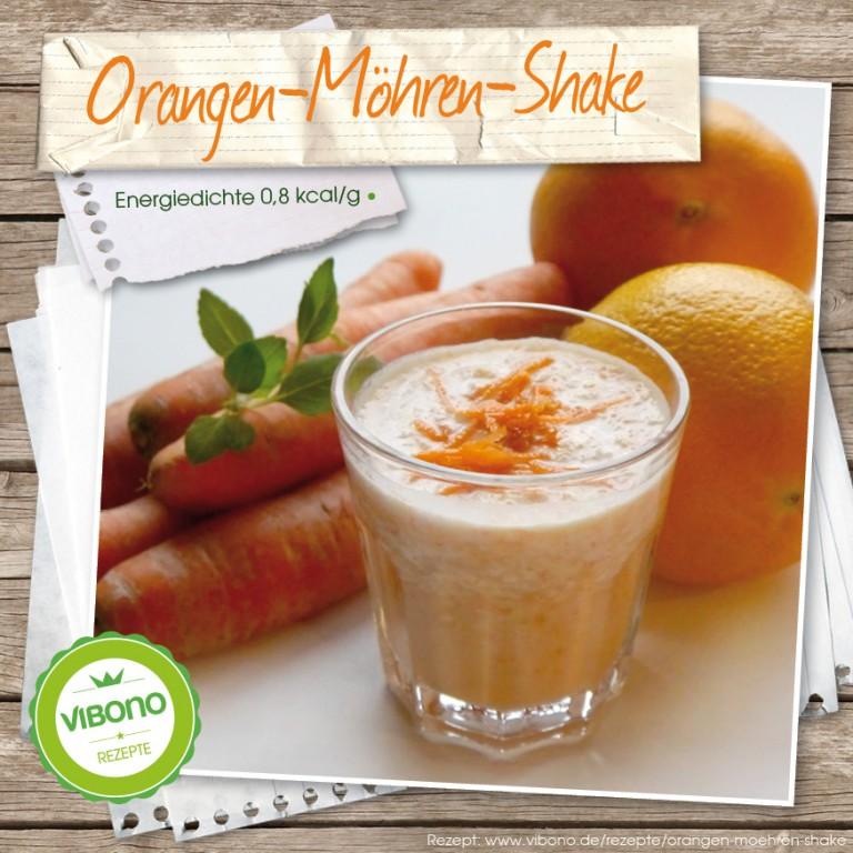 Orangen-Möhren-Shake