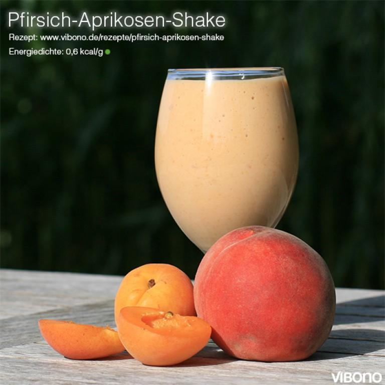 Pfirsich-Aprikosen-Shake