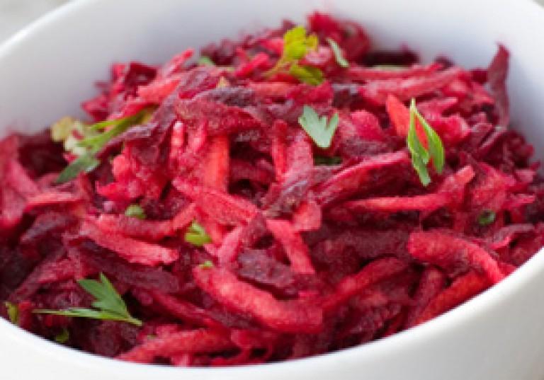 Rote Bete-Apfel-Meerrettich-Salat