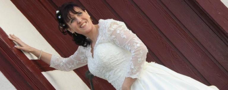 34 Kilo abgenommen, damit das Hochzeitskleid passt!