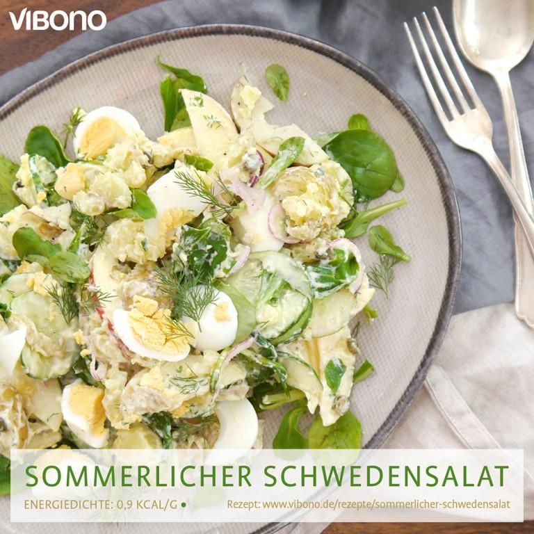 Sommerlicher Schwedensalat