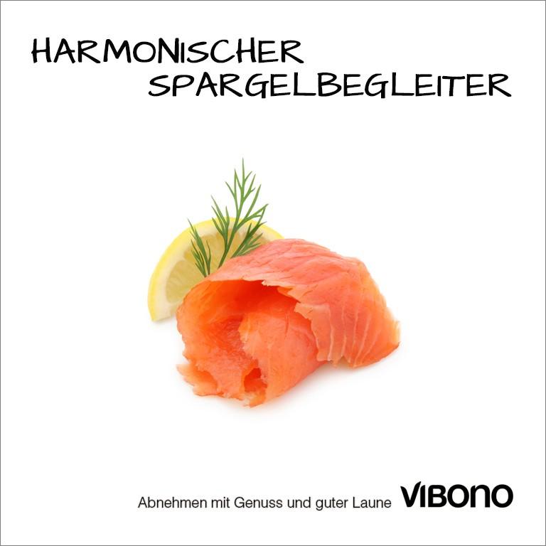 Lachs, harmonischer Spargelbegleiter Nr. 3