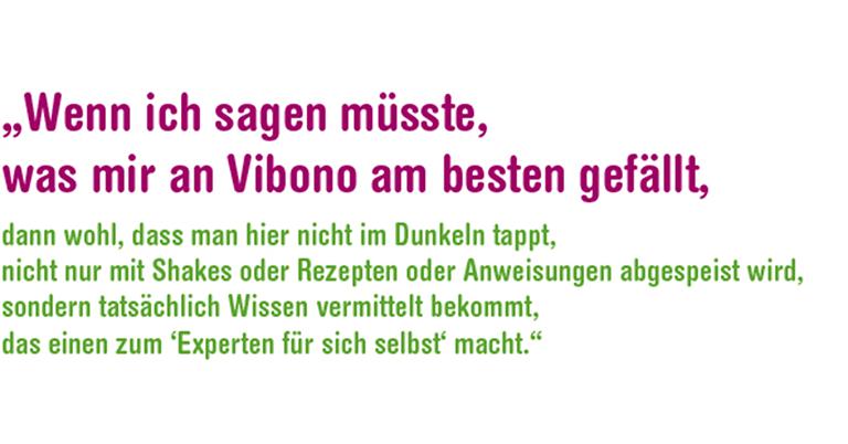 Vibono - Das ist nicht nur abnehmen, das ist Leben!