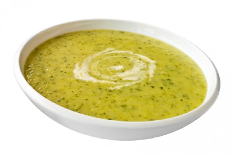Zucchini-Kresse-Süppchen