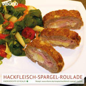 Hackfleisch-Spargel-Roulade