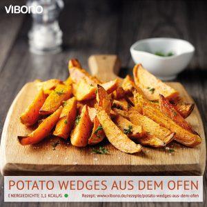 Potato Wedges aus dem Ofen