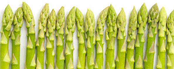 Abnehmen und Genießen – mit Spargel