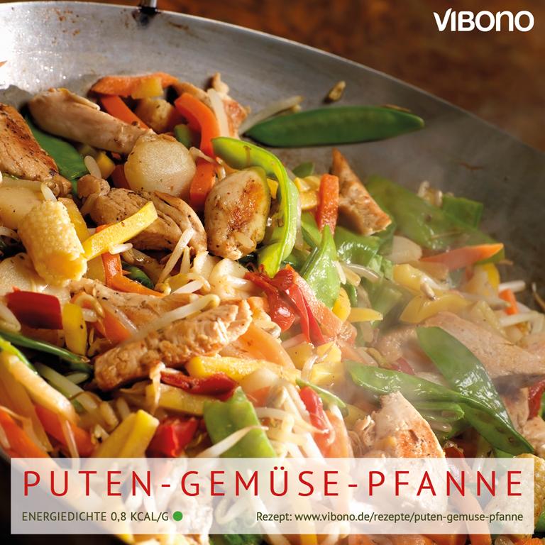 Puten-Gemüse-Pfanne