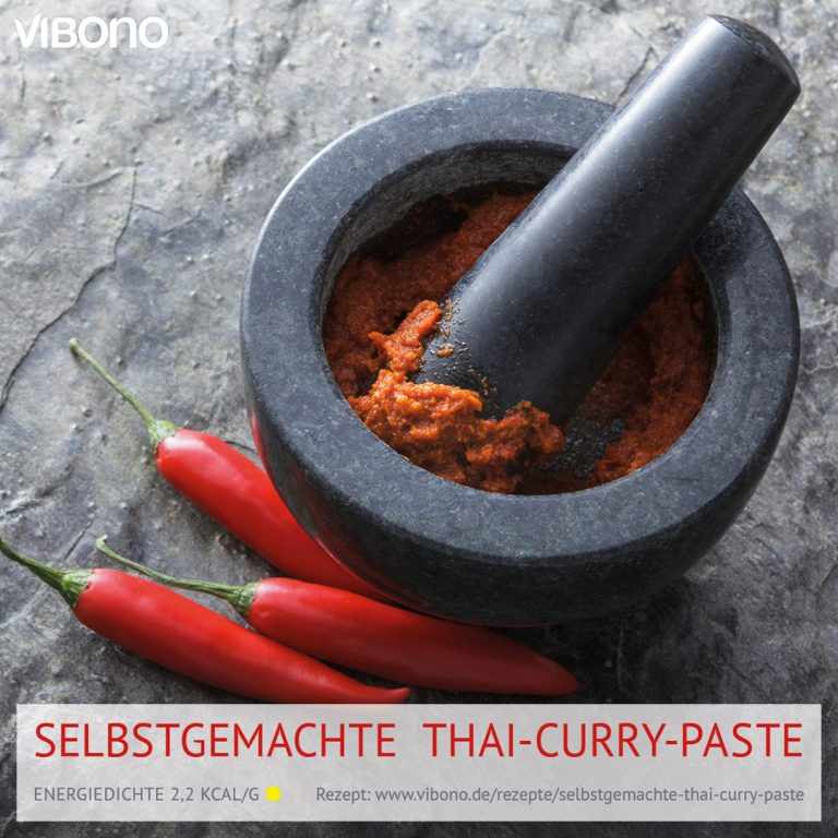 Selbstgemachte Thai-Curry-Paste