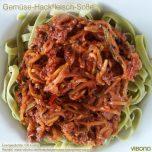Gemüse-Bolognese-Sauce