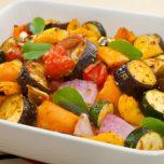 Zucchini & Auberginen mit Schafskäse und Thymian