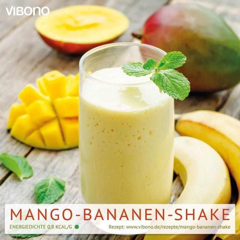 Mango-Bananen-Shake