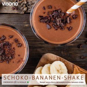 Schoko-Bananen-Shake