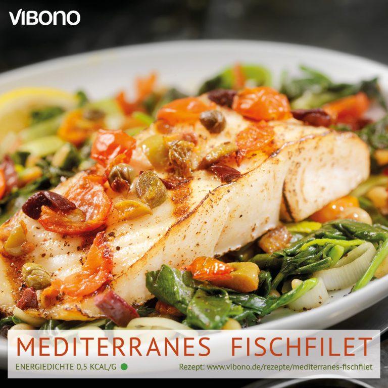 Mediterranes Fischfilet
