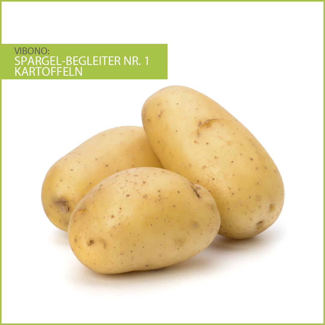 Kartoffeln, harmonischer Spargelbegleiter Nr. 1