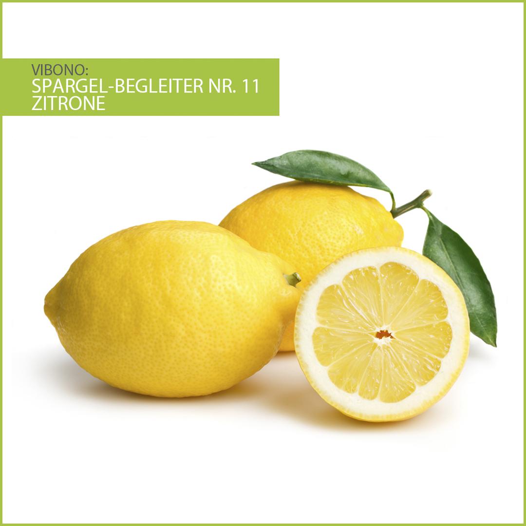 Zitrone, harmonischer Spargelbegleiter Nr. 11